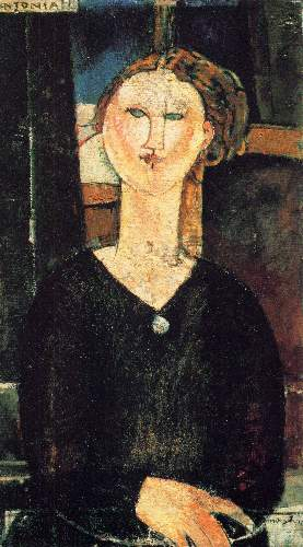Modigliani - Antonia