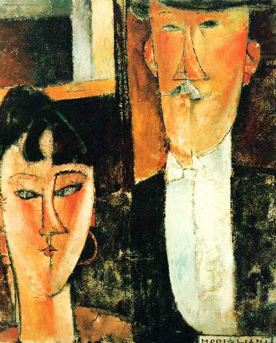 Modigliani - Bride and Groom