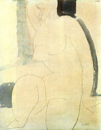 Modigliani - Female nude