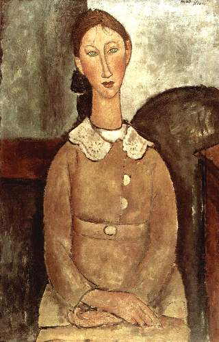 Modigliani - Girl in a yellow dress