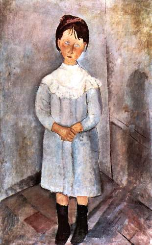 Modigliani - Girl in blue