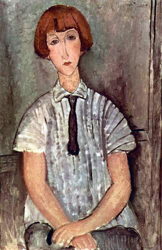 Modigliani - Girl with blouse
