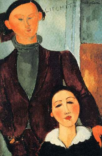 Modigliani - Jacques Lipchitz and his woman