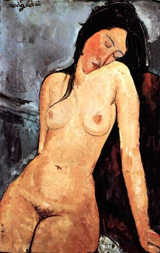 Modigliani - Nude female