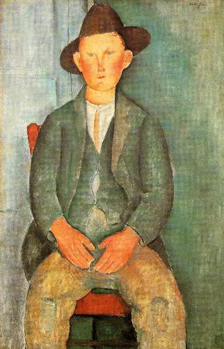 Modigliani - Peasant boy