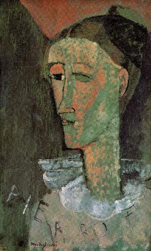 Modigliani - Pierrot