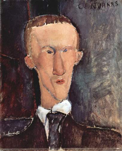 Modigliani - Portrait of Cendras