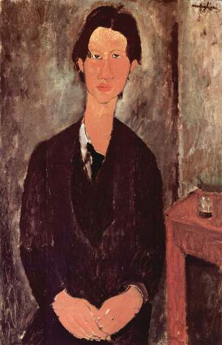 Modigliani - Portrait of Chaiim Soutine