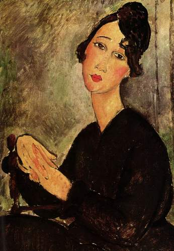 Modigliani - Portrait of Dedie