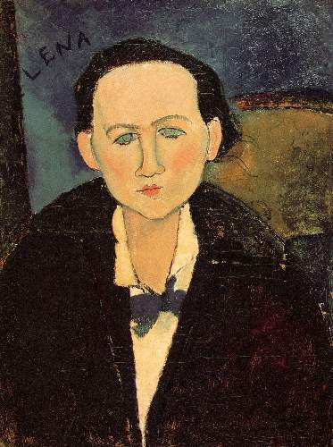 Modigliani - Portrait of Elena Pavlowski
