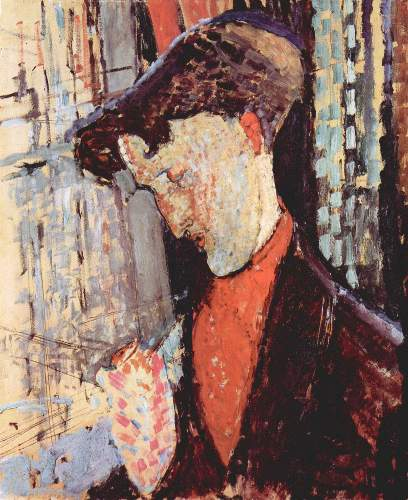 Modigliani - Portrait of Frank Burty Haviland