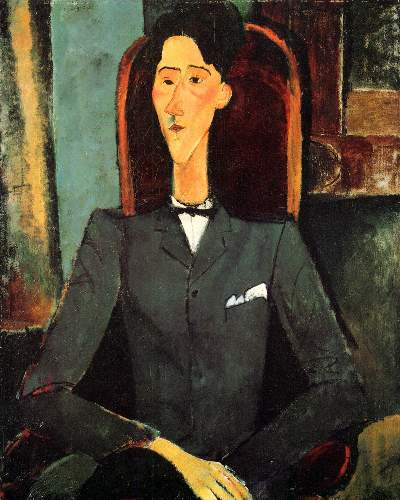 Modigliani - Portrait of Jean Cocteau
