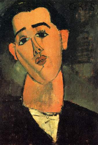 Modigliani - Portrait of Juan Gris