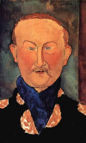 Modigliani - Portrait of Leon Bakst