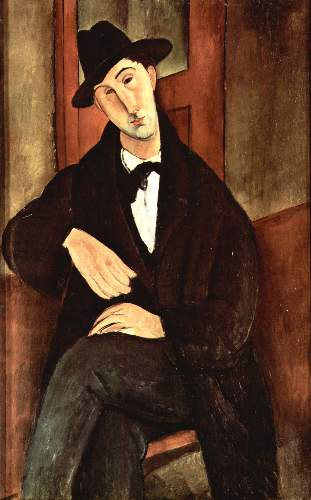 Modigliani - Portrait of Mario Varfogli