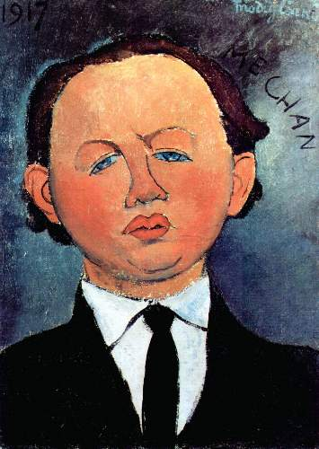 Modigliani - Portrait of Mechan