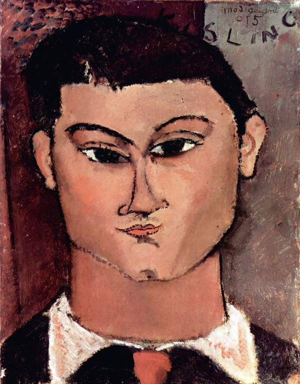 Modigliani - Portrait of Moiise Kiesling
