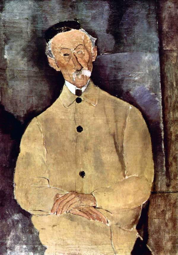 Modigliani - Portrait of Monsieur Lepoutre