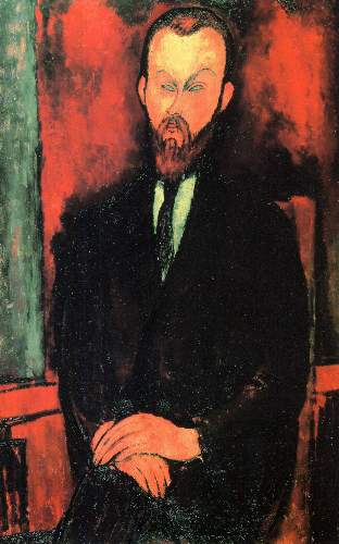 Modigliani - Portrait of Mr Wielhorski