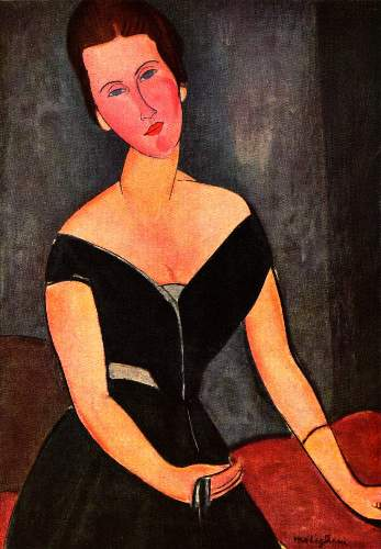 Modigliani - Portrait of Mrs van Muyden