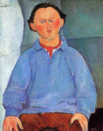 Modigliani - Portrait of Oskar Miestchaninoff