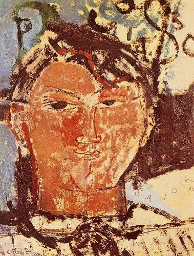Modigliani - Portrait of Pablo Picasso