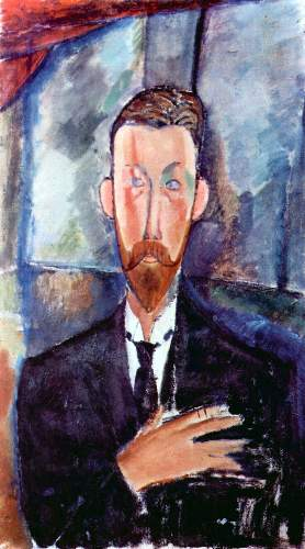 Modigliani - Portrait of Paul Alexanders