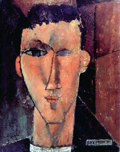 Modigliani - Portrait of Raymond