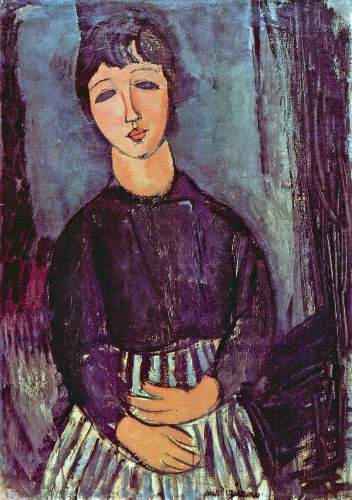 Modigliani - Portrait of Zofe