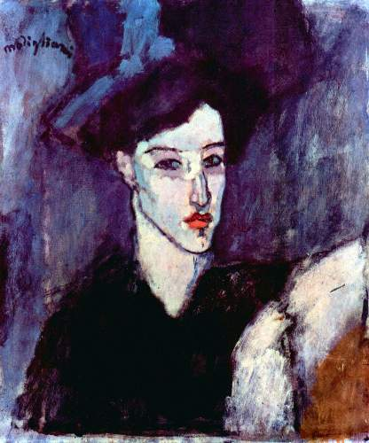 Modigliani - The Jewess