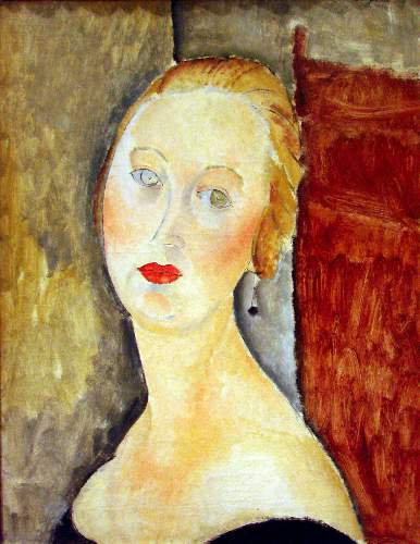 Modigliani - portrait de Germaine Survage