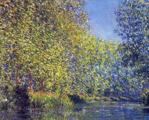 Monet - A Bend in the Epte Giverny