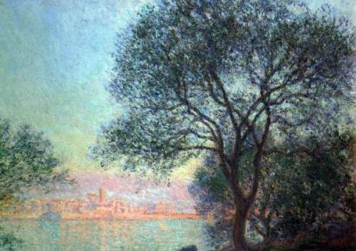 Monet - Antibes seen from La Salis