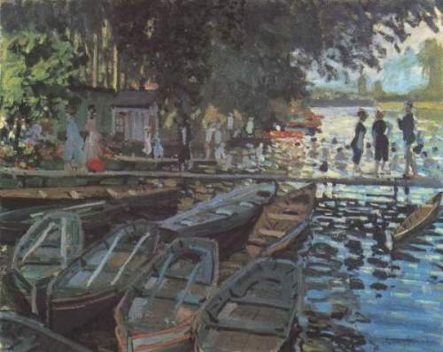 Monet - Bathers at La Grenoulliere
