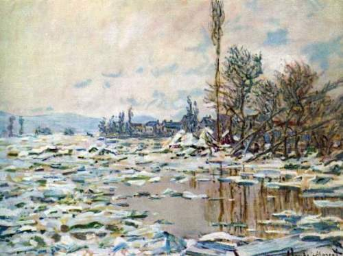 Monet - Break Up of Ice
