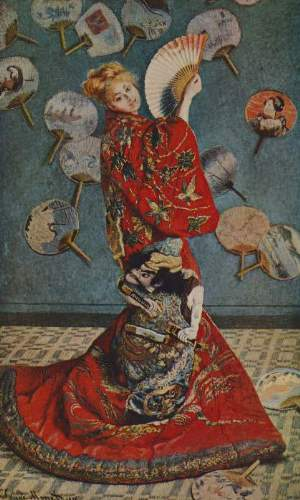 Monet - Camille in Japanese dress