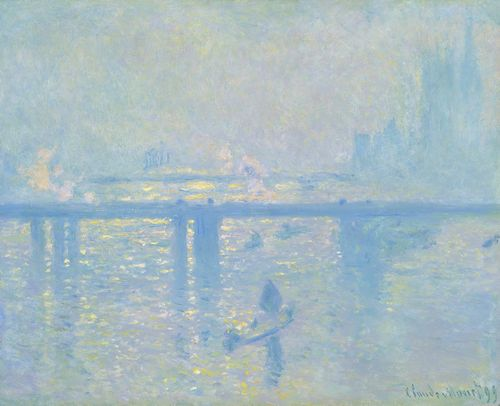 Monet - Charing cross bridge