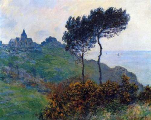 Monet - Church at Varengeville