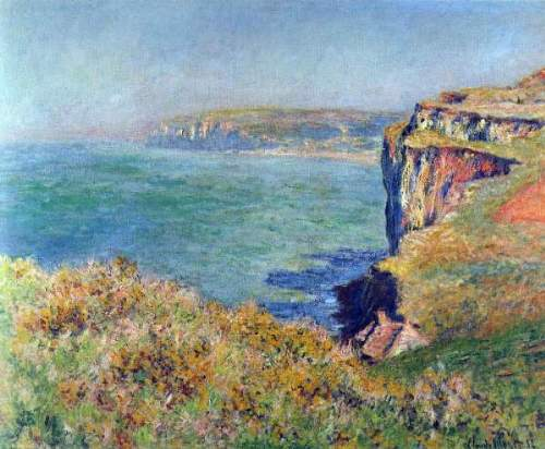 Monet - Cliffs at Varengeville