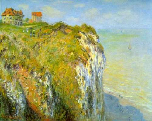 Monet - Cliffs