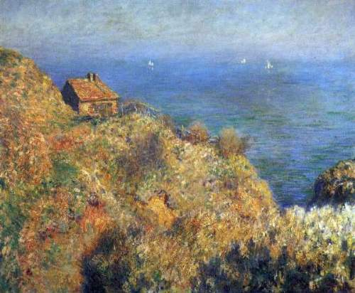 Monet - Fishermans lodge at Varengeville