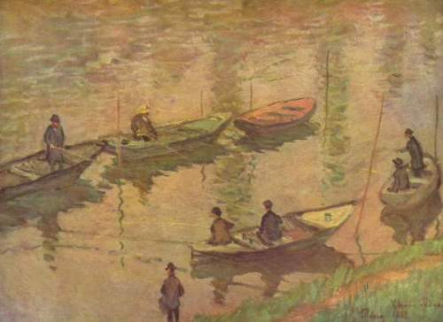 Monet - Fishermen on the Seine