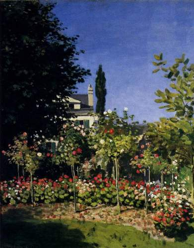 Garden In Flower At Sainte Adresse