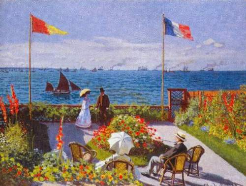Monet - Garden at Sainte Adresse