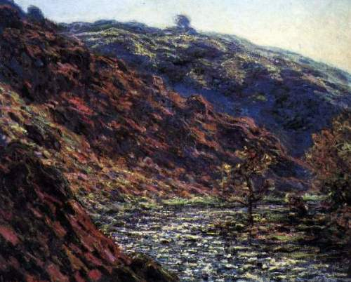 Monet - Gorge of the Petite Creuse