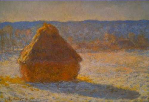 Monet - Haystacks in Snow