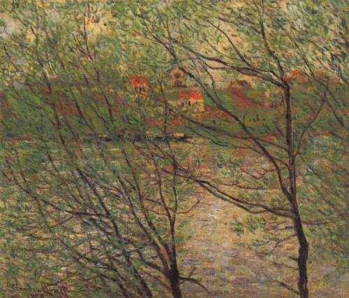 Monet - His bank, the Ile de la Grande Jatte