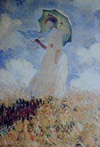 Monet - Lady with umbrella