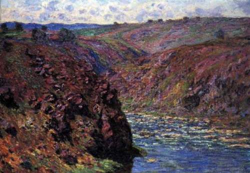 Monet - Les-Eaux Semblantes in the sunlight