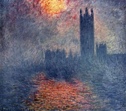 Monet - Parliament in London